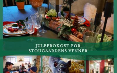 Julefrokost for Stougaardens Venner
